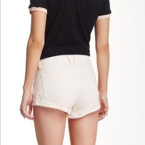 Volcom Shorts - NWT Volcom denim shorts size 30 light pink blush